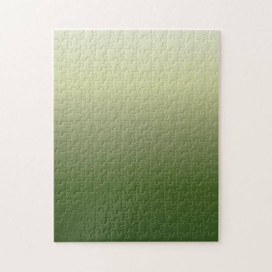 Green Gradient Jigsaw Puzzle