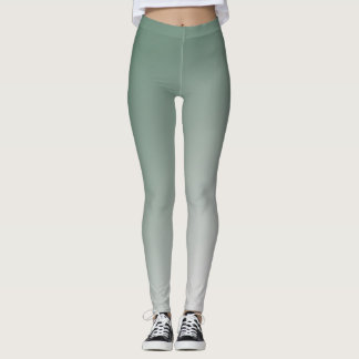 Green Gradient Leggings