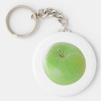 Green Granny Smith healthy vegetarian cuisine food Keychain