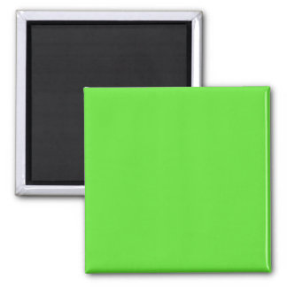 GREEN GRAPE (solid color) ~ Square Magnet