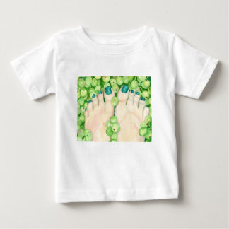 Green Grapes and Pedicure Baby T-Shirt