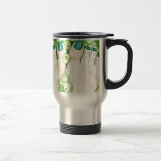 Green Grapes and Pedicure Travel Mug