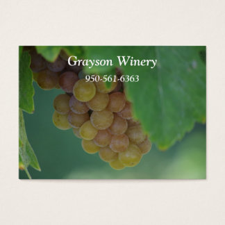 Green Grapes Business Card