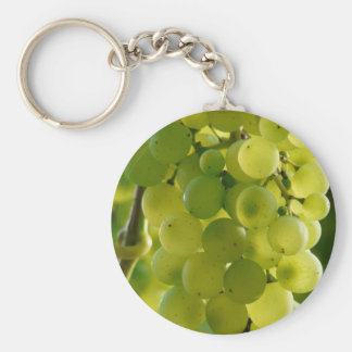 Green grapes keychain