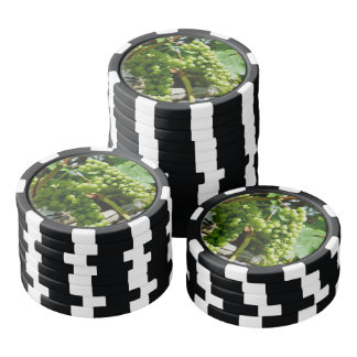 Green grapes poker chips
