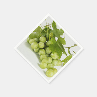 Green Grapes Standard Paper Napkin