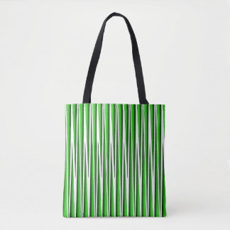 GREEN GRASS BLADES TOTE BAG