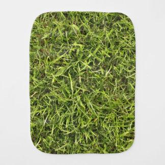 Green Grass Burp Cloth