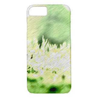Green Grass Colour Hatch iPhone 7 Case