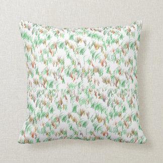 Green Grass Design Pillow