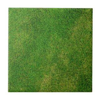 Green Grass Football Field Pattern Tile
