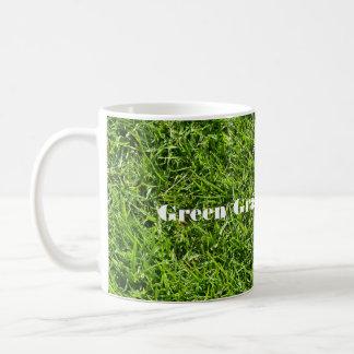 Green grass of home mug
