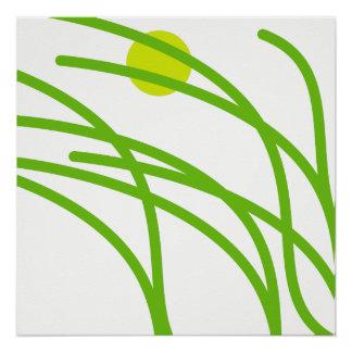 Green Grass Poster