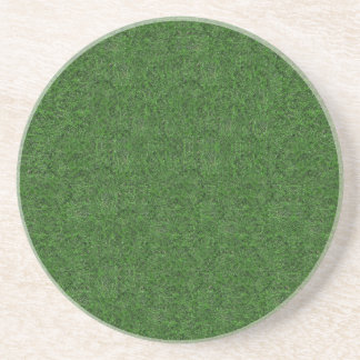 Green Grass Texture Coaster
