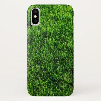 Green grass texture from a soccer field Case-Mate iPhone case