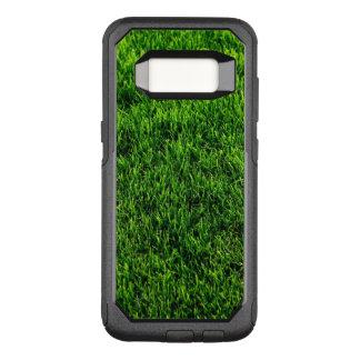 Green grass texture from a soccer field OtterBox commuter samsung galaxy s8 case