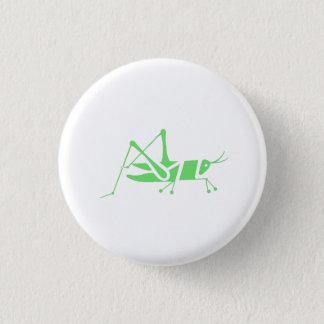Green Grasshopper 1 Inch Round Button