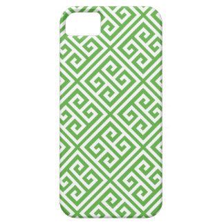 Green Greek Key Pattern iPhone 5 Case