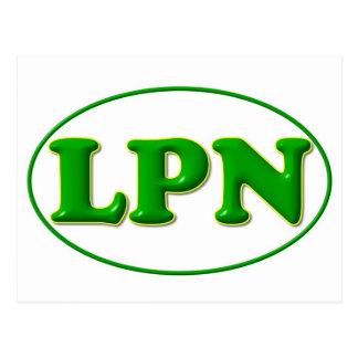green green LPN Post Card