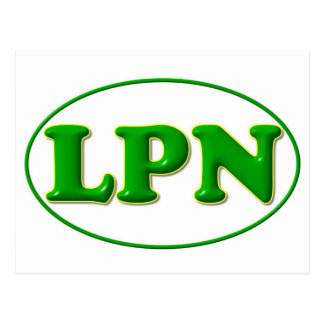 green green LPN Post Card