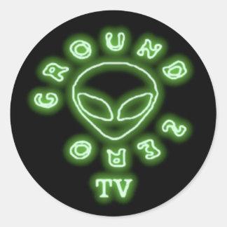 GREEN GROUND ZERO TV STICKERS 20 PACK