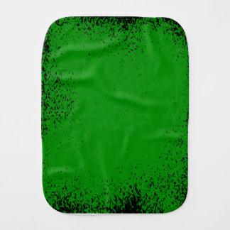 Green Grunge Background Burp Cloth