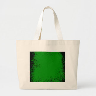 Green Grunge Background Large Tote Bag