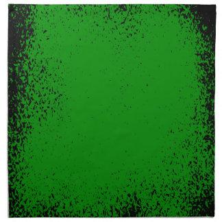 Green Grunge Background Napkin