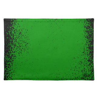 Green Grunge Background Placemat