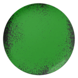 Green Grunge Background Plate