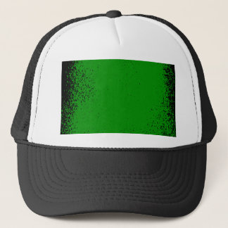 Green Grunge Background Trucker Hat