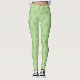 Green GSD Sketch Leggings