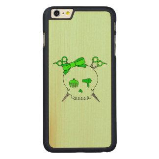 Green Hair Accessory Skull -Scissor Crossbones #2