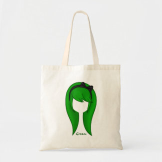"""Green Hair Girl"" Bag"