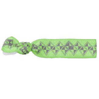 green hair ornament hair tie