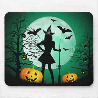Green Halloween Mousepad