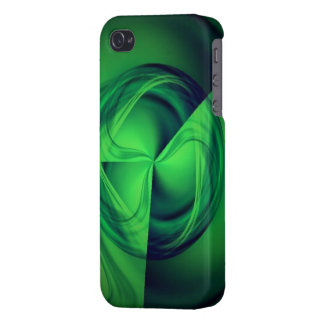 Green Halo energy iPhone case Case For The iPhone 4