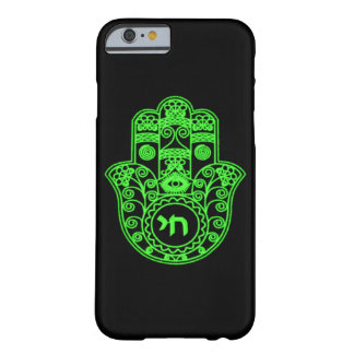 Green Hamsa Symbol Barely There iPhone 6 Case