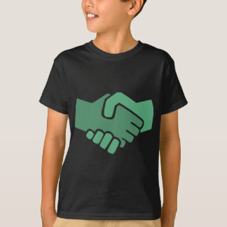 Green Handshake T-Shirt