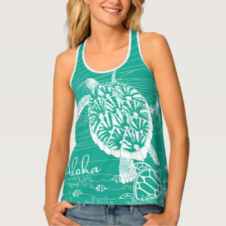 Green Hawaii Hanauma Bay Tank Top