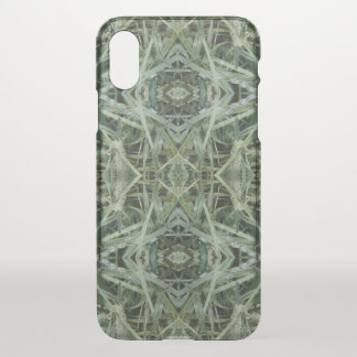 Green Hay 0147 Photo iPhone X Case