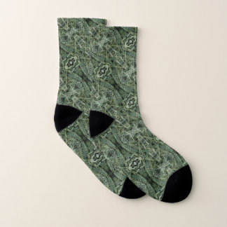 Green Hay 0147 Photo Socks