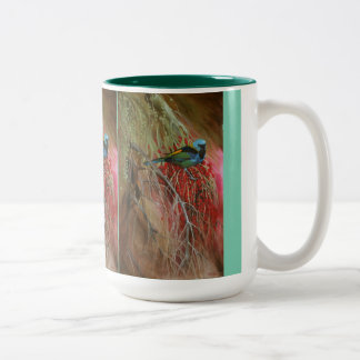 Green-headed Tanager Fine Art Coffee Mug