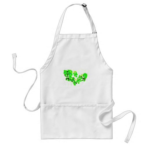 Green Heart Apron