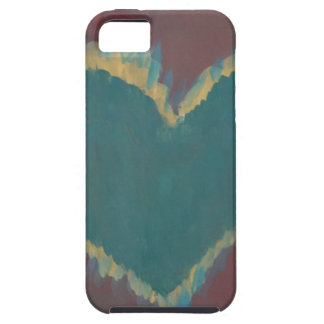 Green Heart iPhone 5 Cases