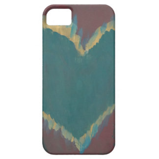 Green Heart iPhone 5 Covers