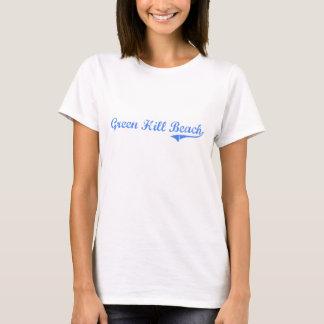 Green Hill Beach Rhode Island Classic Design T-Shirt