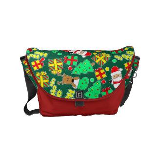 Green - Ho Ho Santa Commuter Bag