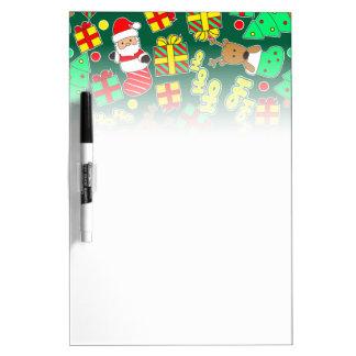 Green - Ho Ho Santa Dry Erase Board