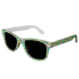 Green - Ho Ho Santa Sunglasses